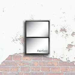 Fairfield LED Wall mounted display 1x2 A3 Landscape