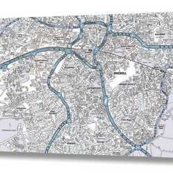 Printed Wall Maps
