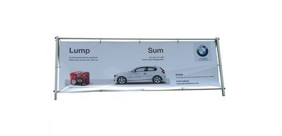 'A' Frame Outdoor Banner Stand
